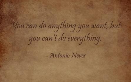Quote - Antonio Neves